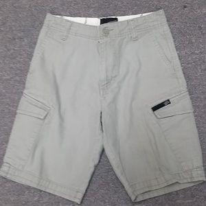 Boys Vans Grey cargo shorts size 8